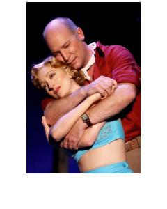Carmen Cusack as Nellie and David Pittsinger as Emile