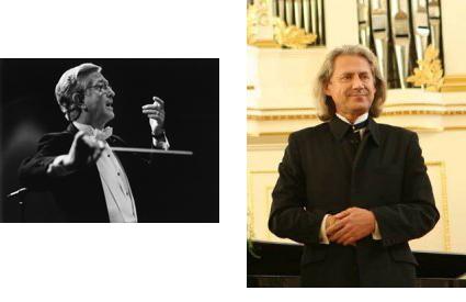 Conductor Donald Neuen and Baritone Vladimir Chernov