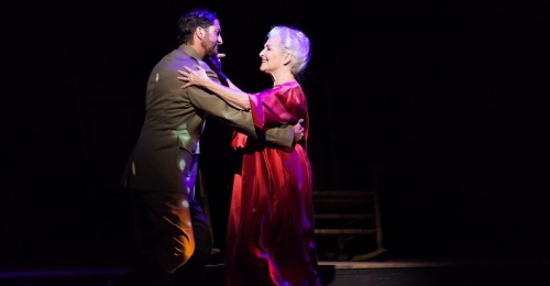 Adam Noble and Frederica von Stade