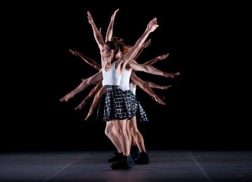 Dancers perform Benjamin Millepied's 'Untitled.'